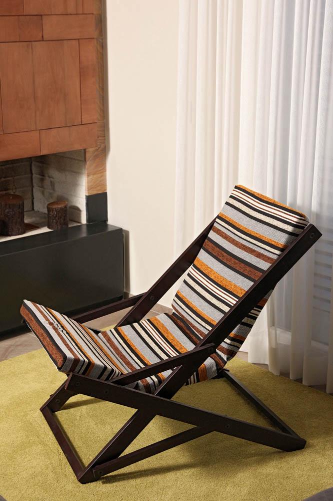 Poltrona sedia dond relax dondolo oscillante cuscino Sedia a dondolo oscillante